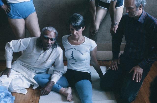 Ingelise and Guruji